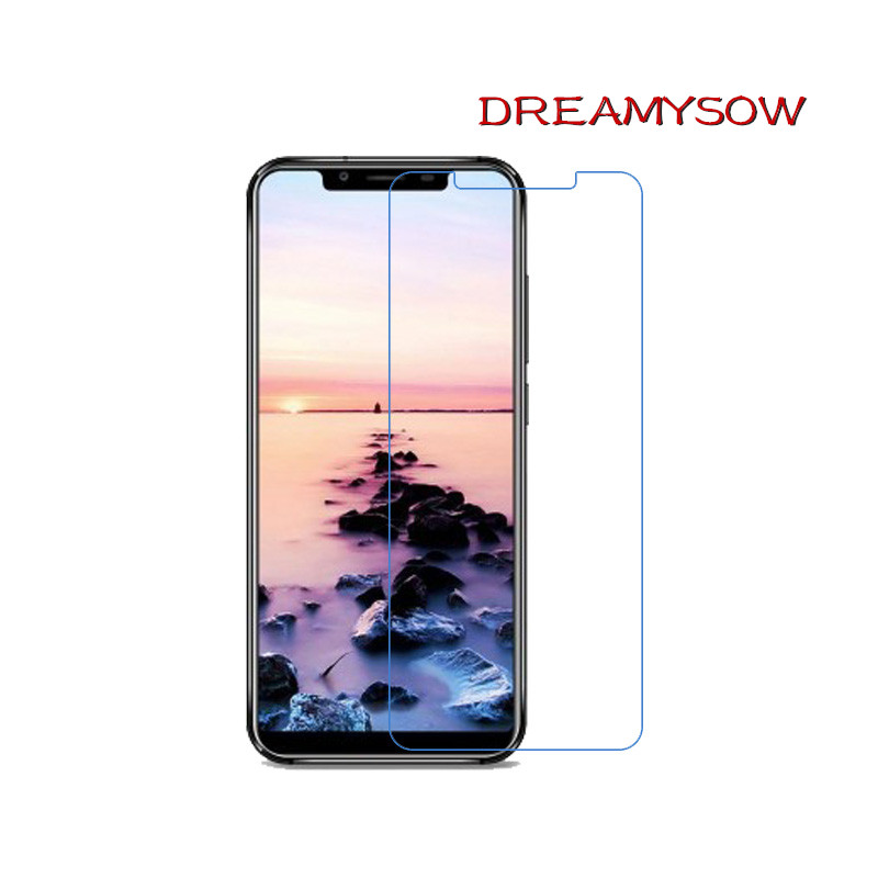 9H 2.5D Tempered Glass Protective for Oukitel C11 C12 Pro K8 K7 U18 K6 K5000 Screen Protector Film for Homtom HT3 HT17 S8 HT8(China)