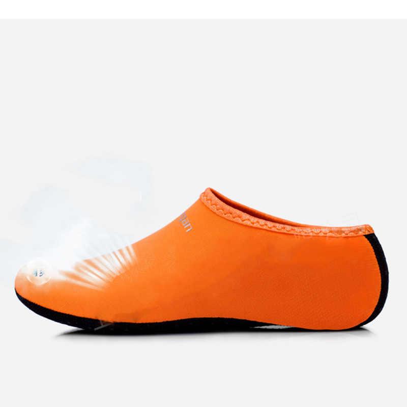 カラフルな夏の女性の水靴下靴屋外ビーチアクアための女性はスリップオンサーフィンサンダル Sandalias スライド