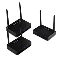 HD585 2 5.8G 1 Transmitter 2 Receiver HDMI 350M Wireless Audio Video TV Sender Adapter 1080P HD For PC TV Box DVD Projector