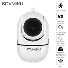 1080 p nuvem sem fio câmera ip wi fi de segurança em casa rastreamento automático câmera de vigilância cctv câmera wi fi monitor do bebê visão noturna