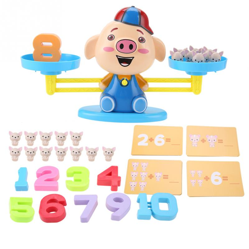 Children Educational Toy Early Learning Balance Digital ...