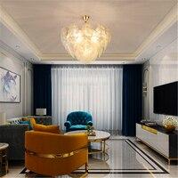 Nordic Lamp Glass Pendant Light Lighting Kitchen Fixtures Pendant Lamp Bedroom Living Room Interior Decor Hanging Lamp Luminaire