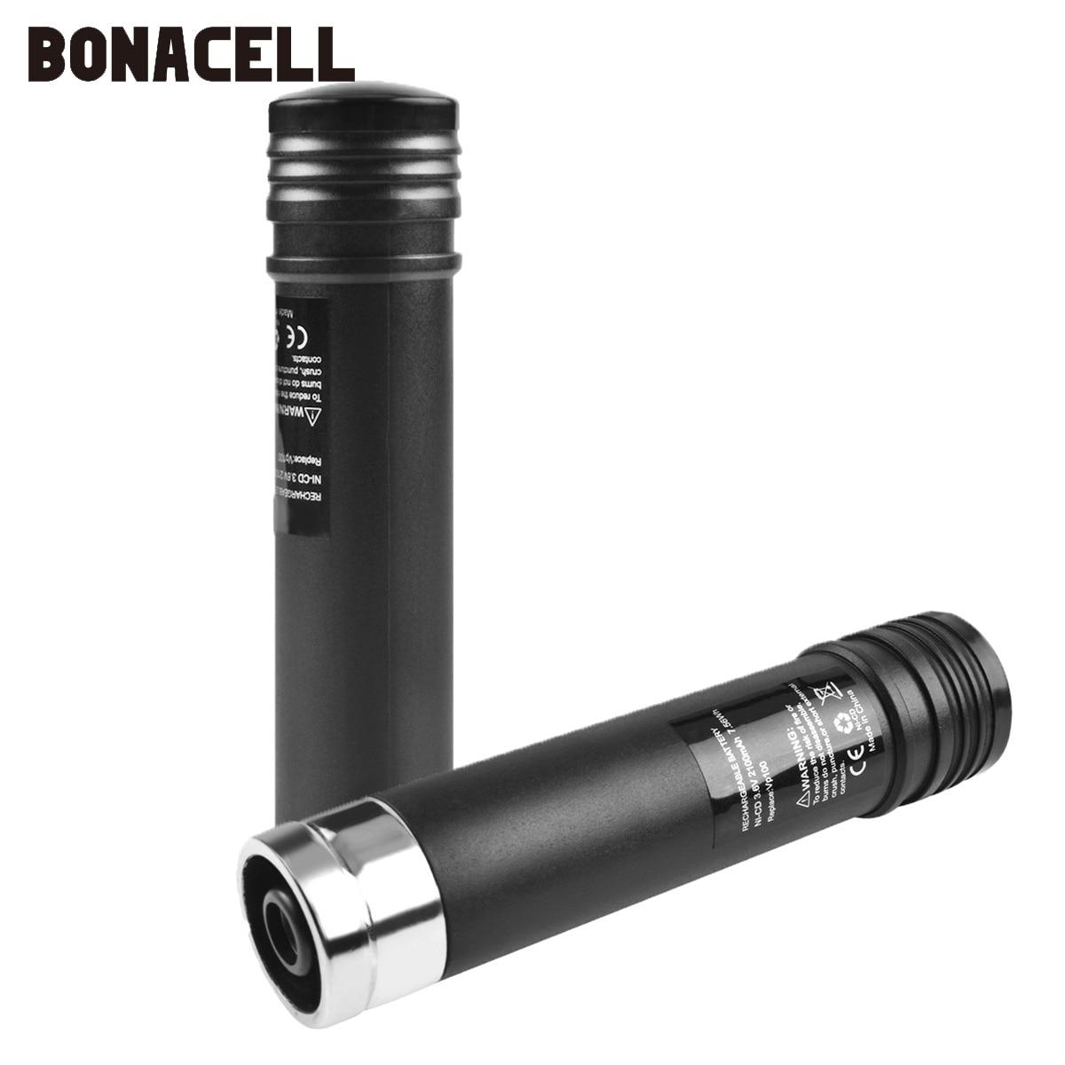 Bonacell 3.6V 2100mAh NiMH Battery For Black & Decker Versapak VP100 VP100C VP105 VP105C VP110 VP110C VP143 Versapak Battery L10