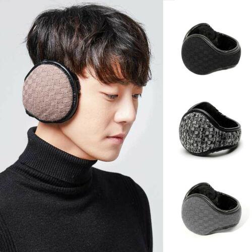 Unisex Plush Earwarmers Winter Soft Solid Thicken Women Men Ear Warmer Earmuffs