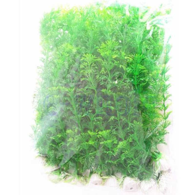 1 قطعة نباتات زينة اصطناعية الديكور غاطسة زهرة العشب ديكور زخرفة حوض للأسماك حوض السمك النباتات Dropship البيع دروبشيب