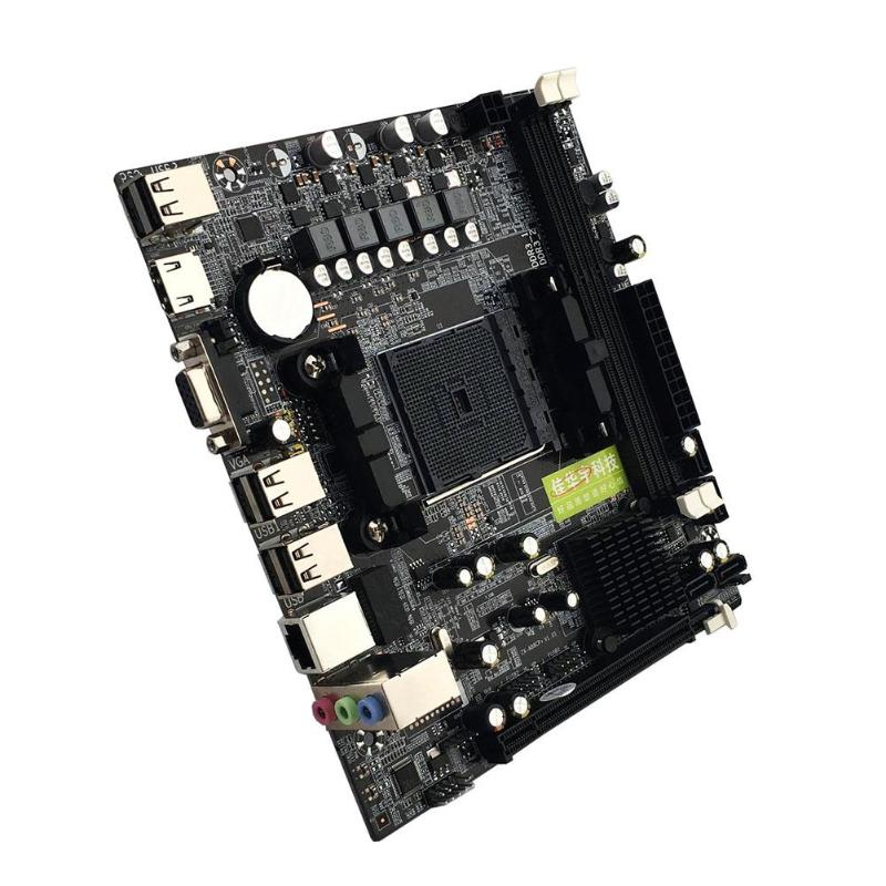 For AMD Computer Motherboard A55/A58 PCI-E 2xDDR3 4xSATA2.0 Interface DIMM FM2/FM2+CPU Interface DDR3 A88M2 A10 Mainboard