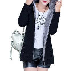 Kobiety moda jesień zima zagęścić sportowe bawełniane płaszcz panie stałe ciepła kurtka z kapturem odzieży wierzchniej kobiet wyściełane parka płaszcz 4