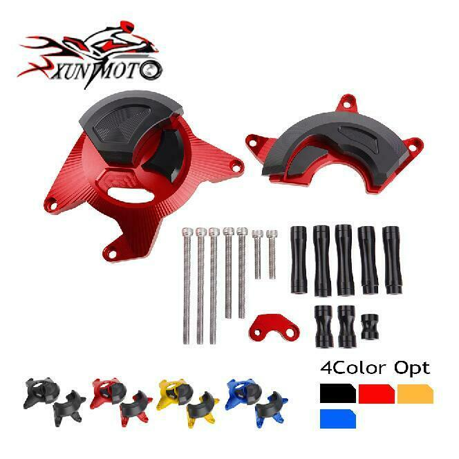 Motocycle Parts Motocycle Engine Guard Cover Frame Slider Protector for 2015 2016 Honda CBR300R CBR300F Red Blue Black Gold