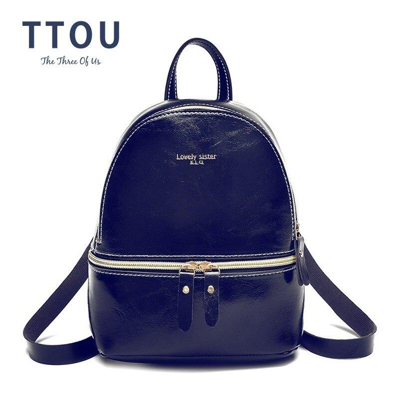 TTOU Sweet Mini Shoulder Bag High Quality Oil Wax