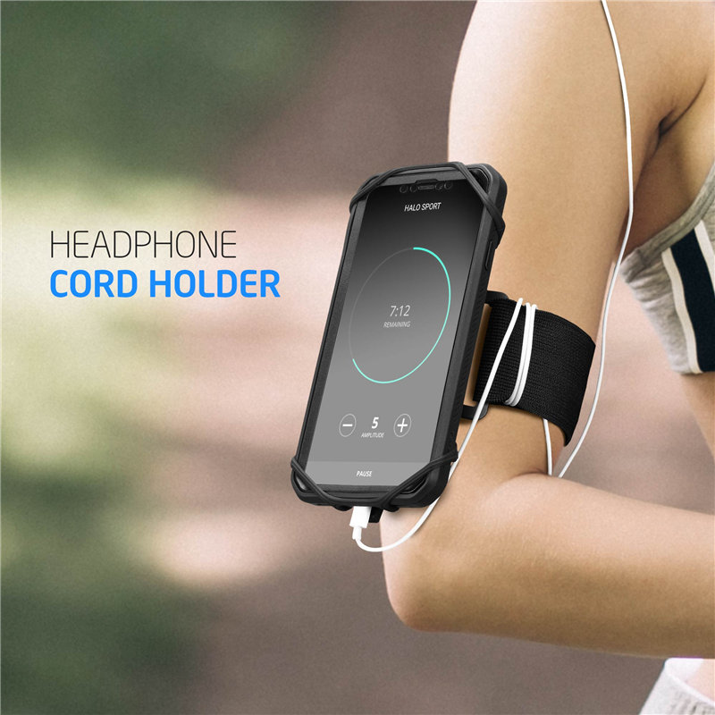 Image 4 - SUPCASE Quick Mount Running Phone Armband For iPhone X/XS Max/XR,For Galaxy Note 9/S9/S8 Plus,Detachable Workout Sports Arm Band-in Armbands from Cellphones & Telecommunications