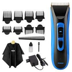 RE 750A wodoodporny profesjonalna maszynka do włosów akumulatorowa maszynka do strzyżenia włosów elektryczna maszynka do włosów maszyna do cięcia włosów z certyfikatem CE w Trymery do włosów od AGD na