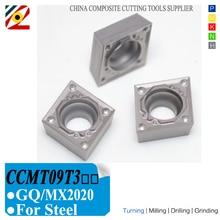 Carbide Inserts Lathe-Turning-Tools EDGEV Cermet CCMT32505 CCMT09T304/08 CNC GQ Substitue