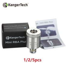 1/2/5pcs Kangertech Mini RBA Coil for Subtank Plus and Mini Series Atomizer E-cigarette Vaping RBA Tank Head Coil without Cotton(China)