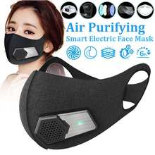 Smart Electric Face Dust Mask Air Purifying N95 Anti Dust Pollution PM2.5 With Breathable Valve Personal Health Fresh Air Supply