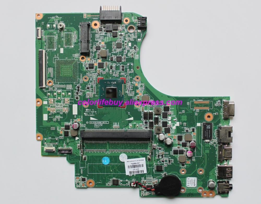 Genuine 752884 001 w Cel N2820 CPU Laptop Motherboard Mainboard for HP 240 G2 NoteBook PC-in Laptop Motherboard from Computer & Office