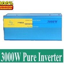 Inverseur де panneau solaire панели солнечные инвертор 3000 Вт Чистая синусоида мощность инверсор DC 12 В в к AC 220 В в(Вт 6000 пиковая мощность