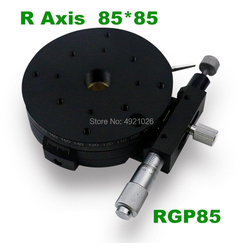 Run-in type de montage R Axe Rotatif RGP85 Précision Diapositive Micromètre Plate-Forme cnc de haute précision Coulissantes stade 85mm