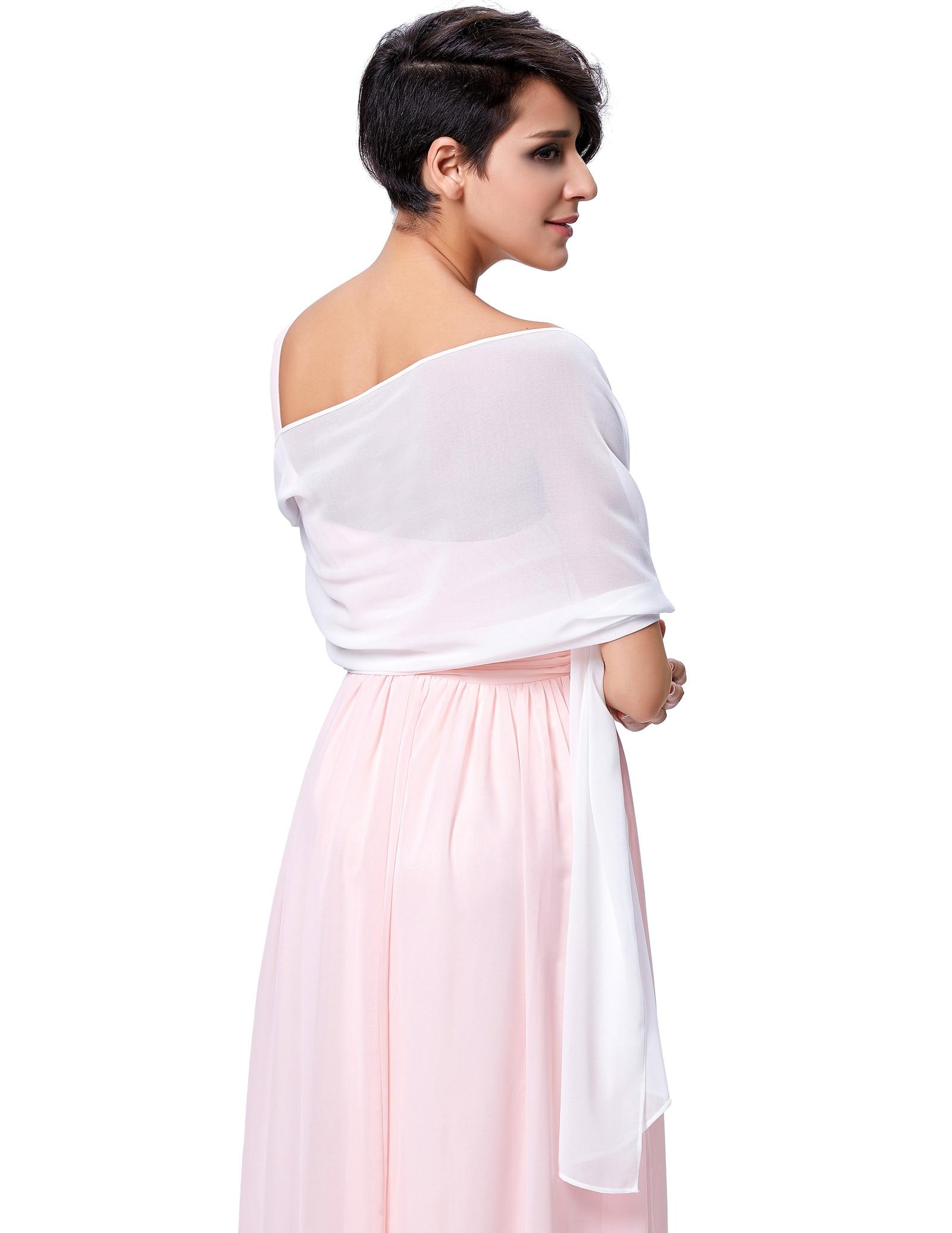 "72*18"" Women Chiffon Bridal Evening Dress Cover Shawl   Scarf   Soft Stole   Wrap   New"