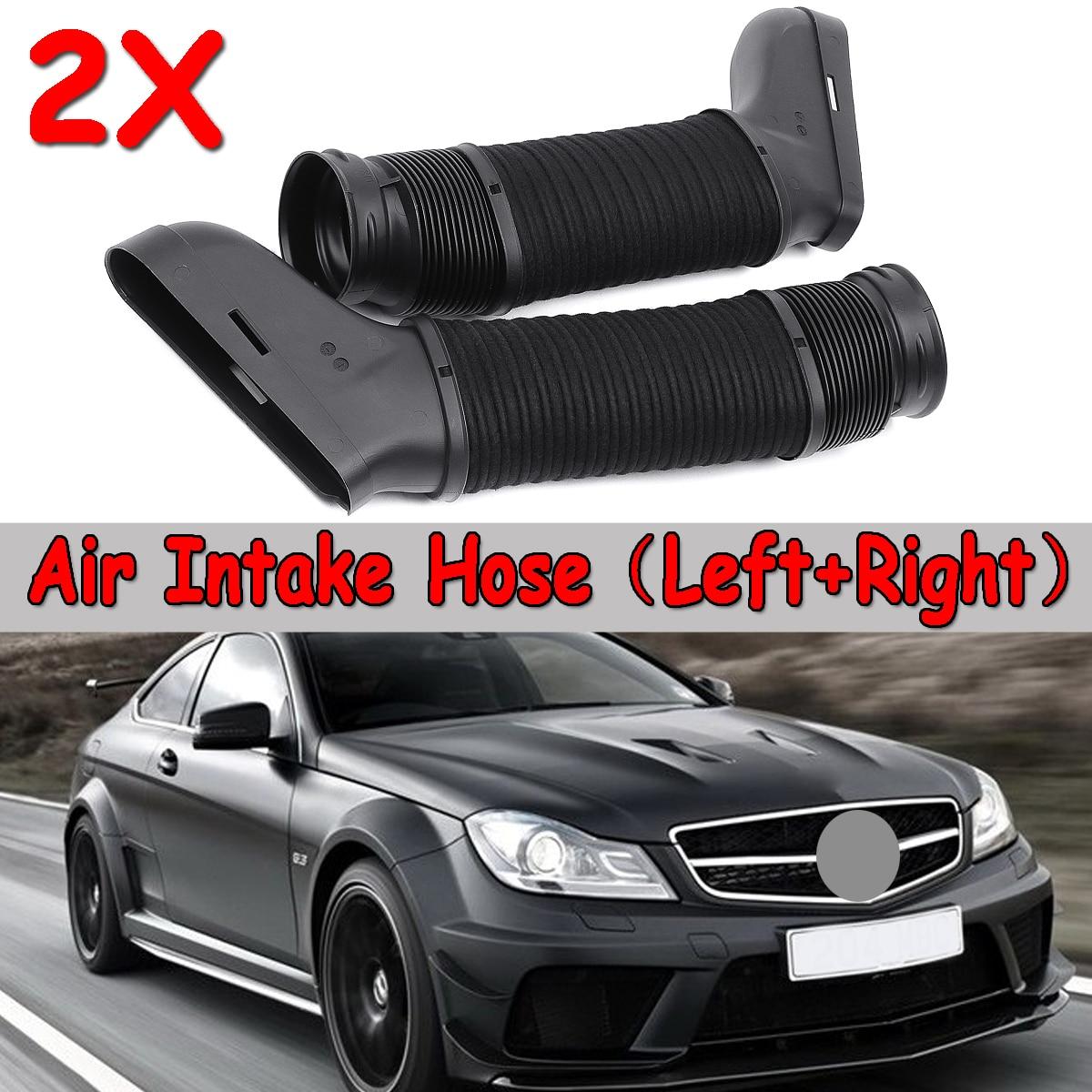 1 paire Side Car Air Conduit D'admission Tuyau Noir Pour Mercedes W204 A207 C207 S212 V212 W212 2720903682 Collecteur D'admission pour original De Voiture
