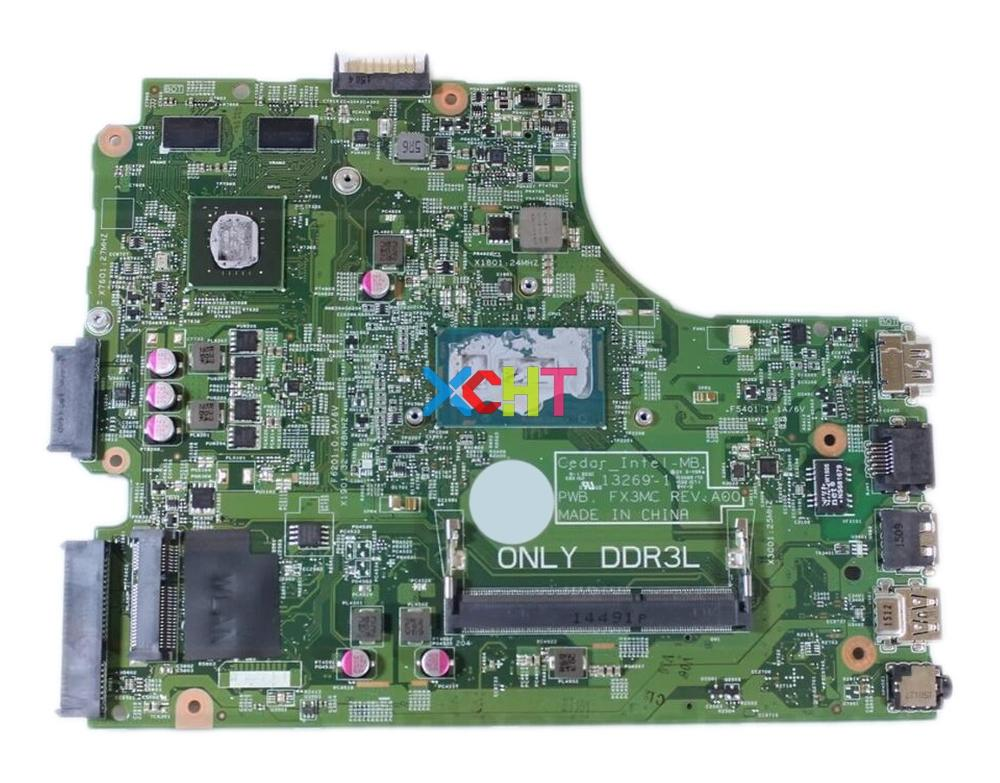 V162V 0V162V CN-0V162V W I7-5500U CPU GT840M GPU 13269-1 PWB. FX3MC REV:A00 For Dell Inspiron 17 5749 Laptop Motherboard Tested