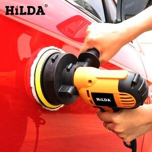 Image 4 - HILDA máquina del pulidor de coche, máquina de pulido automático, lijado de velocidad ajustable, herramientas de depilación, accesorios para coche, herramientas eléctricas