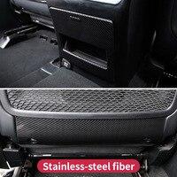 Dla Mercedes Benz GL500 450 GLS X166 Ml350 2012 GLE W166 coupe c292 amg główne siedzenia jazdy carbonTrim naklejka na pokrywę akcesoria w Naklejki samochodowe od Samochody i motocykle na