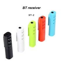 Receptor de Audio Bluetooth 3,5mm inalámbrico BT recibidor estéreo Audio música adaptador para altavoz de coche