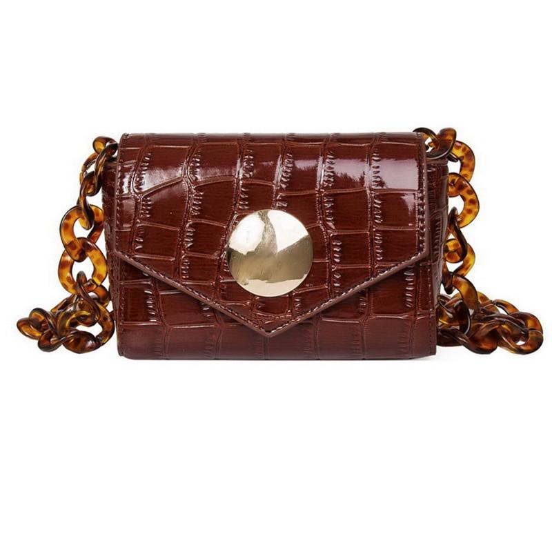 Women Waist Bag Fashion Handbags Vintage Female Fanny Pack Women'S Small Belt Bags For Girl Brown
