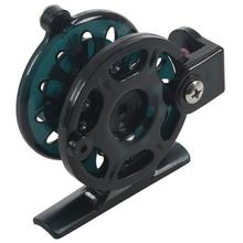 ABGZ-Transparent gray Winter Fishing Plastic Ice Reel Fly Reels Pesca