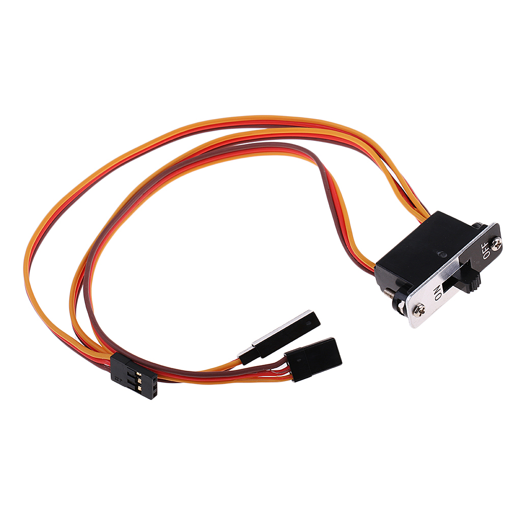 Remote Control Toys Parts & Accessories Good Jr 3 Way Connector Plug Cable Wire Harness High Quality On/off Power Switch For Rc Car Wire Harness Cable Accs