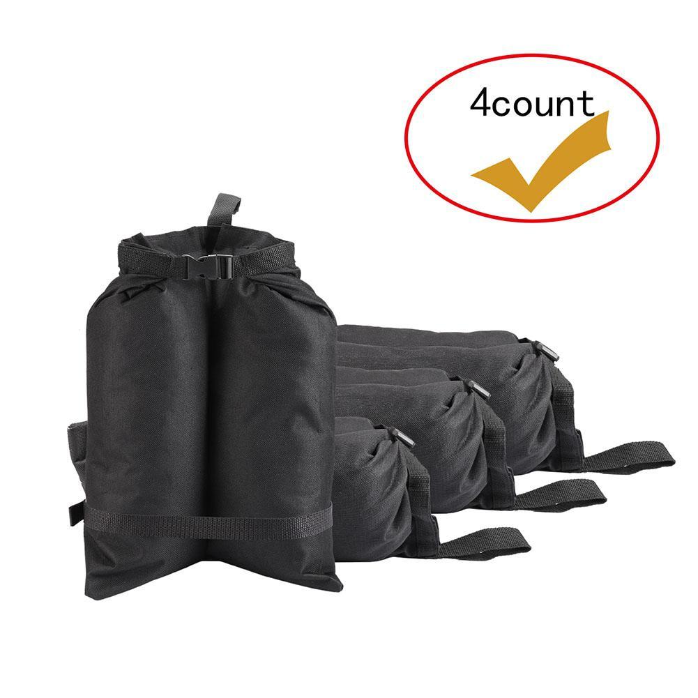 4 stücke Outdoor Tragbare Regenschirm Basis Gewicht Tasche Camping Camping & Outdoor