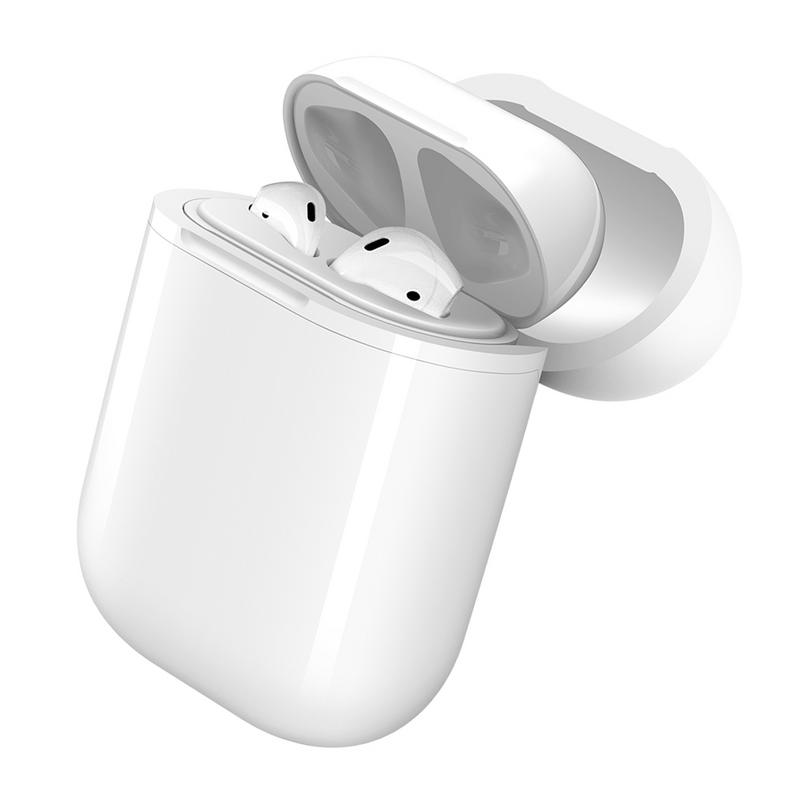 Wireless Charger Case For Airpods Bluetooth Headset Wireless Charging Protective Case Box For QI Wireless Charger