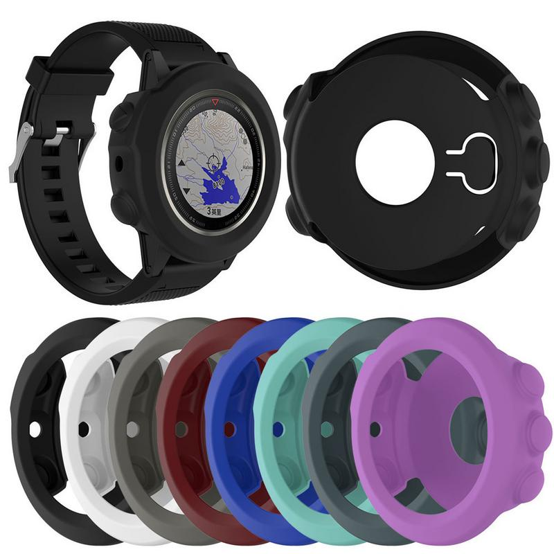 Image 5 - Premium Silicone Wrist Band Case Protector Cover Smart Watches Wrist Strap Breathable Bracelet Accessories For Garmin Fenix 5X-in Smart Accessories from Consumer Electronics