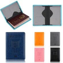 Обложка для паспорта из искусственной кожи, держатель для паспорта, Обложка для удостоверения личности, Обложка на паспорт для поездок, кошелек для паспорта, Чехол для мужчин wo men