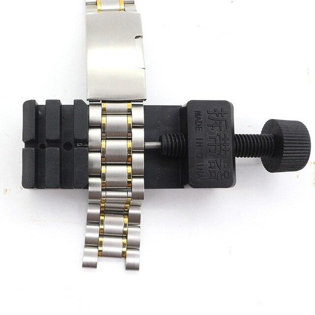 Watch Band Link Adjust Slit Strap Bracelet Chain Pin Remover Adjuster Repair Tool Kit For Men/Women Watch 3