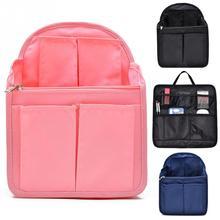 6dbd2c3678a8d Kleinigkeiten Finishing Lagerung Tasche Tasche In Tasche Rucksack Einfügen  Organizer Reise Tragbare Windel Schultern Tasche