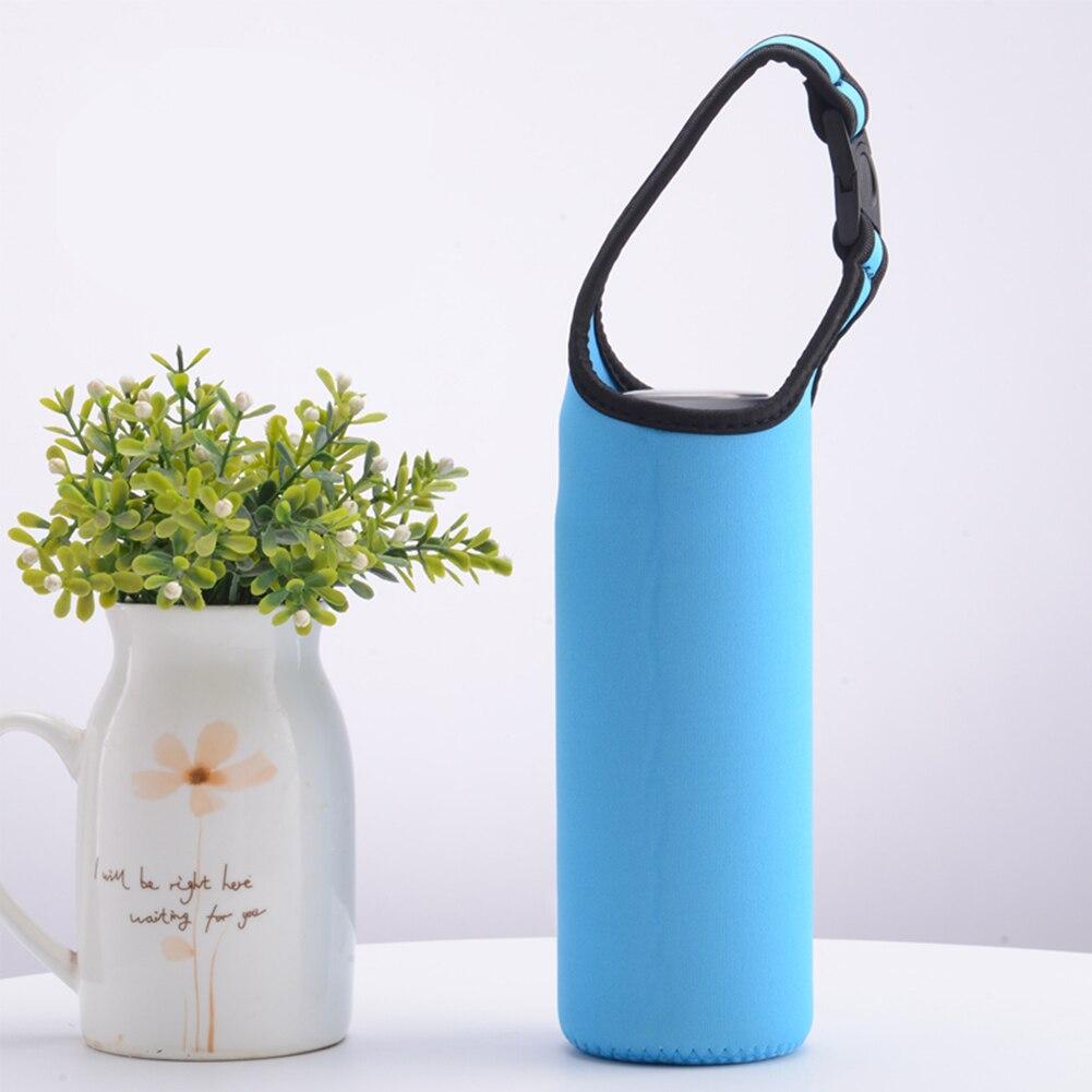 4Pcs Neoprene Water Bottle Carrier Insulated Cover Bag Holder Drink Beverage