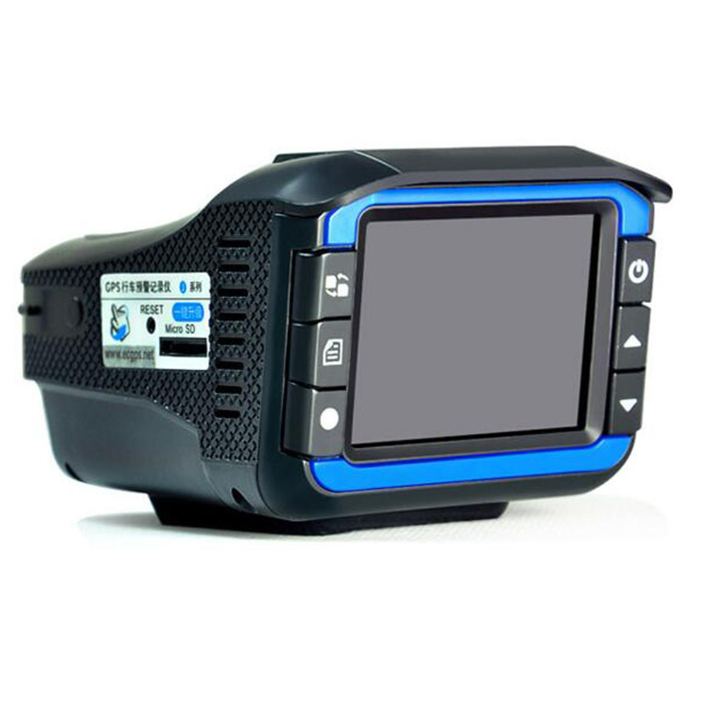 2 en 1 Hd voiture Dvr caméra Radar compteur de vitesse voiture enregistreur Hd vitesse Machine de mesure
