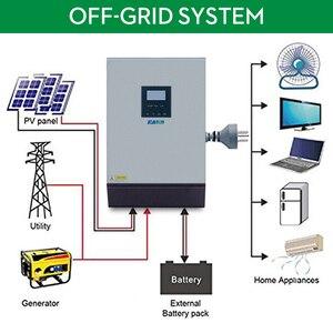Image 2 - EASUN POWER Solar Inverter 3KVA 24V 220V Hybrid Inverter Pure Sine Wave Built in 50A PWM Solar Charge Controller Battery Charger