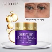BREYLEE Retinol Eye Cream Lifting Firming Anti-aging Anti Wrinkle Anti-Eye Bags Eyes Care Ageless Nourishing Whitening Serum