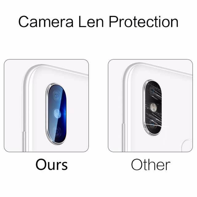 US $0 92 29% OFF|2PC 29D Back Camera Lens Clear Transparent Tempered Glass  For XiaoMi Mi Play Redmi Note 7 6 5 Pro Protector Protective Film HD-in