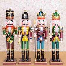 Деревянные кукольные фигурки «Щелкунчик», винтажные кукольные игрушки ручной работы, детские игрушки, рождественский подарок, декоративные украшения, украшение для дома