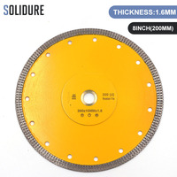 Hot sintered 8 inch X shape super thin 200mm diamond ceramic tile saw blade for ceramic and porcelain tiles