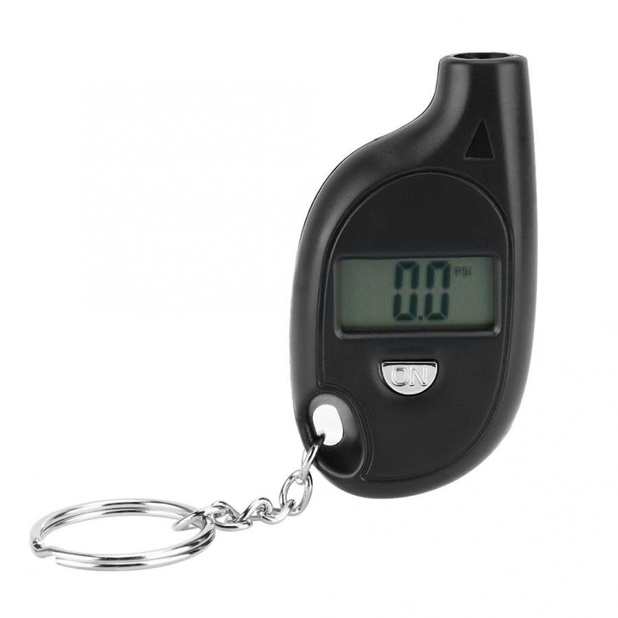 Portable 3-150PSI Digital LCD Display Keychain Vehicle Motorcycle Car Tire Tyre Wheel Air Pressure Gauge Mini Tester Monitor