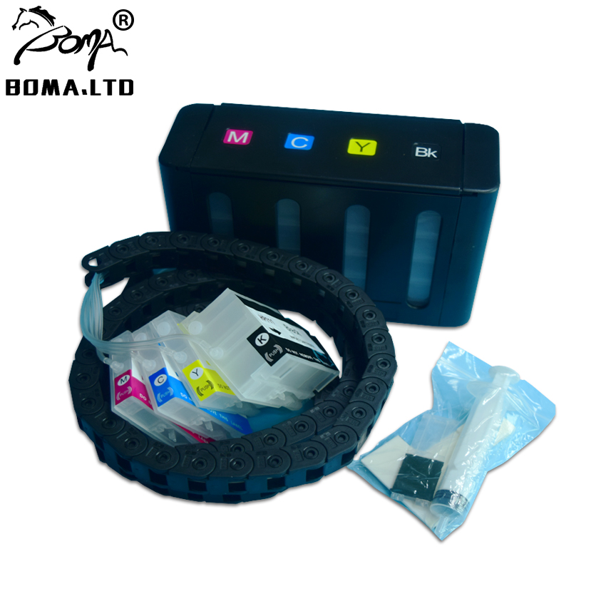 Printer Spare Parts Ciss Ink System With Home Chain for HP 711 Continuous Ink System for HP T520 T120