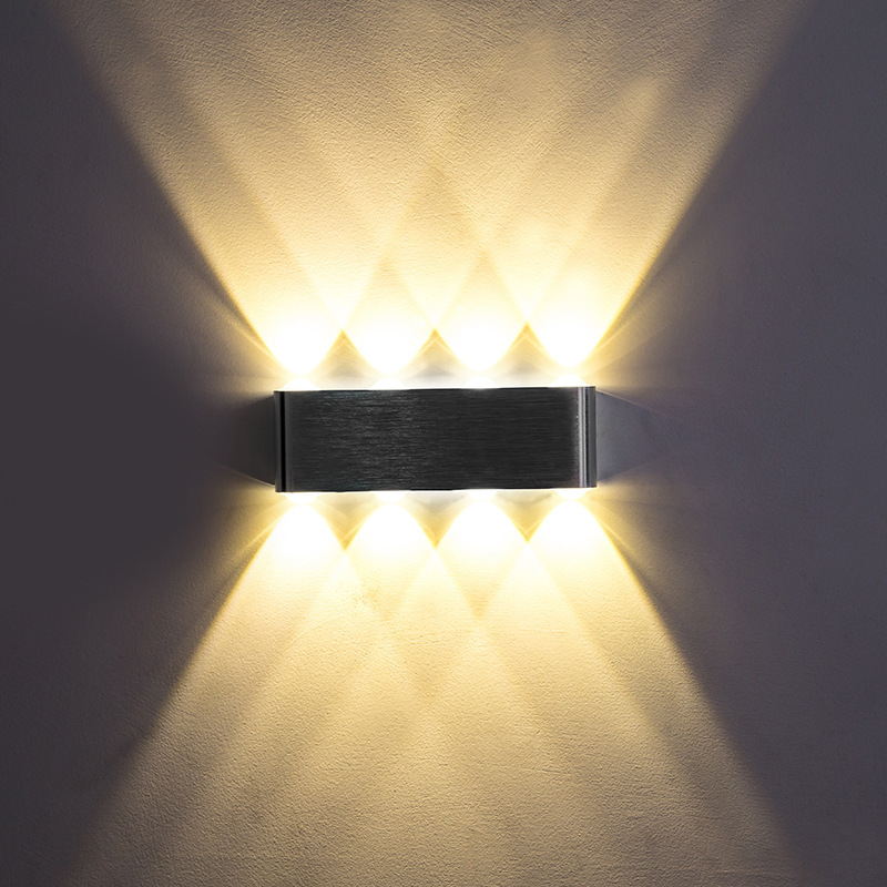 Bedroom Bedside LED Wall Lamp Aisle Corridor Stairs LED Wall Lamp Modern Concise Originality Personality Indoor Wall Lamp
