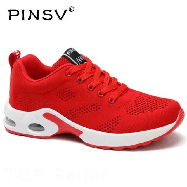 Размер 35–40 Женские кроссовки корейские туфли на плоской подошве Для женщин кроссовки женские уличные Белая Дамская обувь из сетчатого материала лианы PINSV
