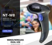 NETUM Wireless 2D Barcode Scanner Handheld 2D QR Bar Code Reader Supports MaxiCode, Data Matrix, PDF417 for MAC, Windows NT W8