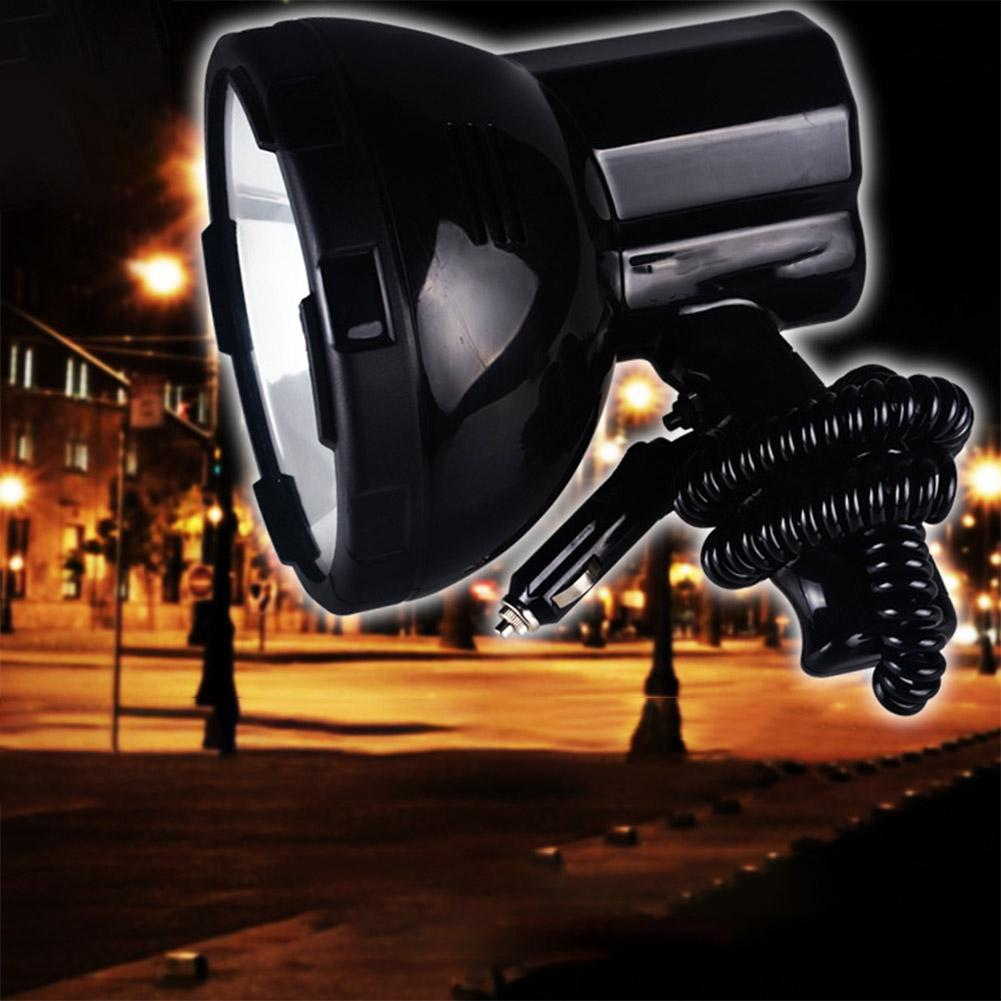 High power xenon lamp outdoor handheld hunting fishing patrol vehicle h3 HID searchlights 35W hernia spotlight