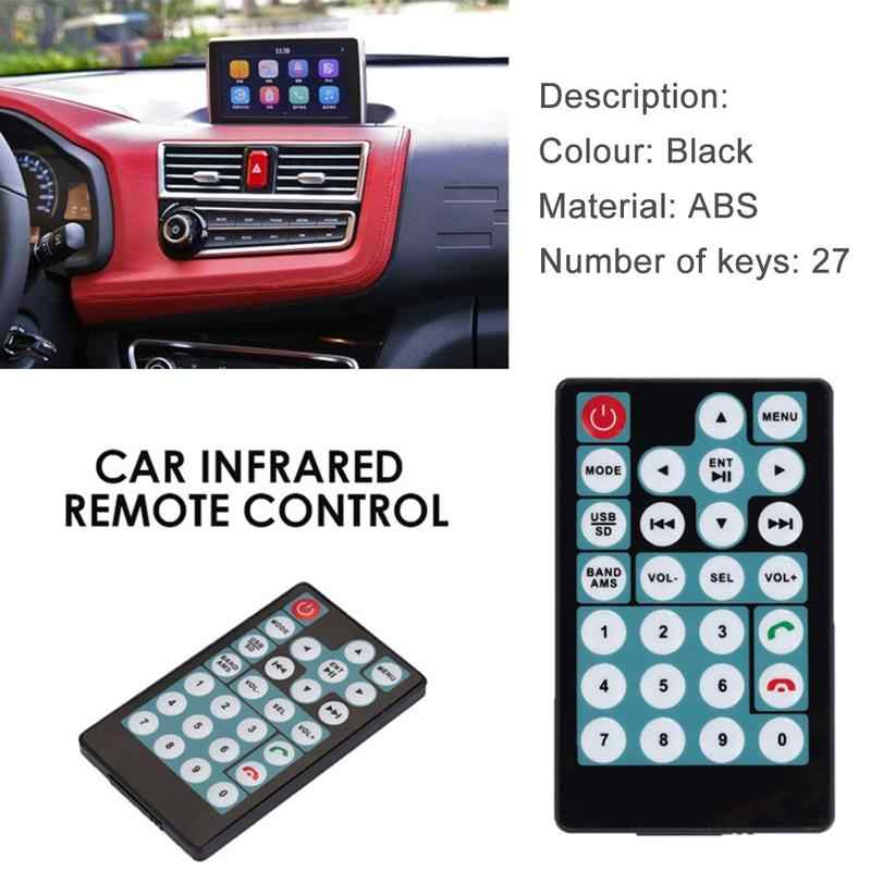 Car MP5 Intelligent 27 Buttons Remote Control Switch Simple Convenient Copy Operation Car Remote Control Car Accessories